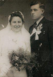 Oskar and Hilda wedding, Jan. 20, 1944