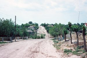 Fachria main street in 1976