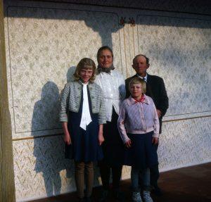 Wissinger family in Uivar, R.