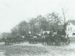 Evacuation of entire village of Fachria