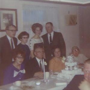 Family gathering at Silver wedding