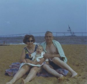 A beach moment
