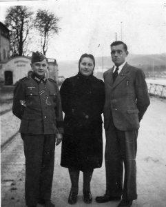 Willi, Hilda and Oskar in Austria