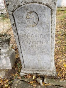 First wife of Heinrich Habermann