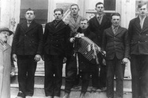 Fachria youth, Oskar on left
