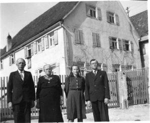 Georg, Wilhelmina, Hilde, Oskar