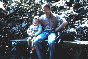 Walter Habermann and son