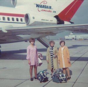 Nancy Staiger, Hilda on left