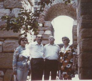 Touring Romania in 1976
