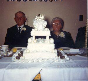 Georg and Wilhelmina Golden Wedding Anniv.
