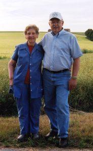 Hilda and Helmut in Aspachhof