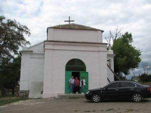 Church in Johannestal, Ukraine-Metzger home