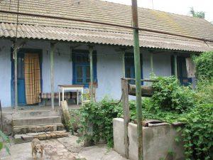 Front of Weller home in Gnadental