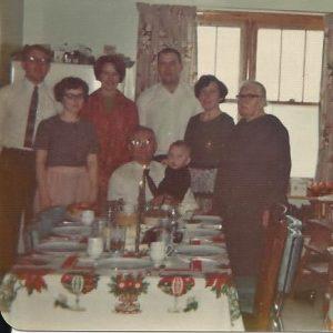 Celebrating in Hebron home