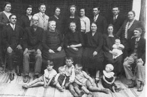 Georg and Christine Habermann Sr. family