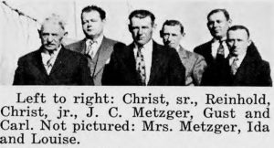 The Metzger brothers in Hebron
