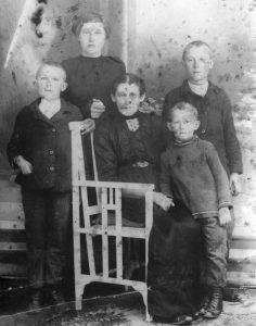 Johann, Lydia, Christine, August, Gustav Habermann
