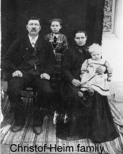 Christof, Wilhelmina, Wilhelmina, Eduard Heim