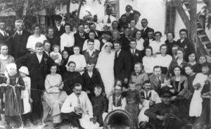 Fachria wedding, Georg Habermann center front