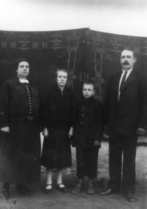 Wilhelmina, Victoria, Oskar, Georg Habermann