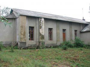 Side of church in Gnadental
