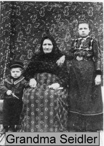 Eduard Heim, Grandmother Justine, Wilhelmina Heim