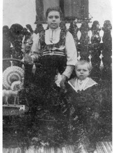 Wilhelmina w. Eduard Heim