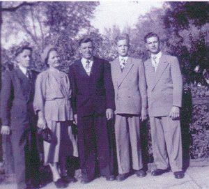 Eduard Heim family