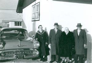 Martha and Eduard Heim visiting