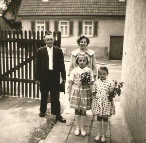 Herbert Martin and daughters