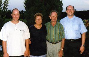 Günther, Hilde, Georg, Gerhard Lehner