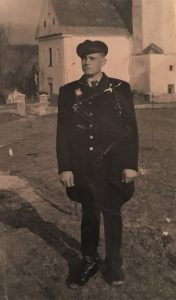 Oskar Habermann in uniform