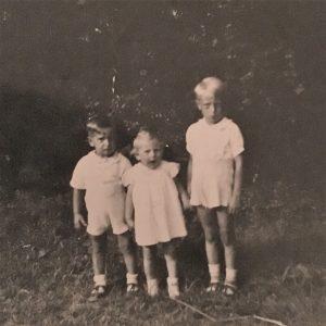 Edwin, Irmgard, Helmut in Germany
