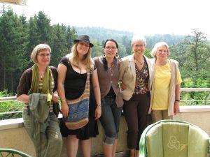 Brigitte, Marina, Kerstin & Hilde Rösner w. Judi