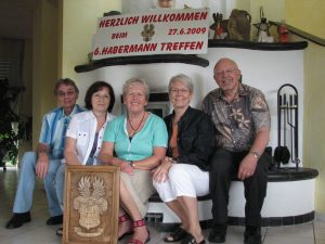 At Habermann Reunion in Germany