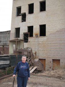 Hebron Brick Factory-Clay grinding