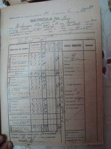 Oskar's report card