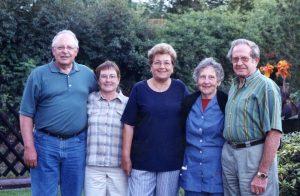 Helmut, Sharon, Hilde, Hilde, Georg
