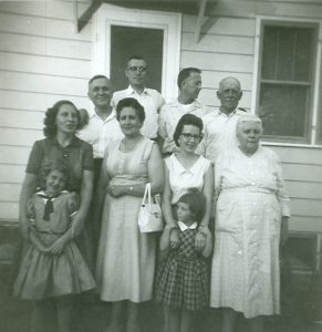 Heim and Nagel families visiting