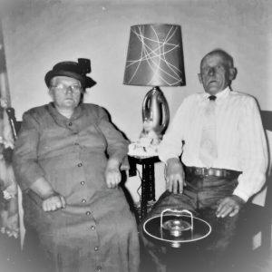 Wilhelmina and Georg in Hebron