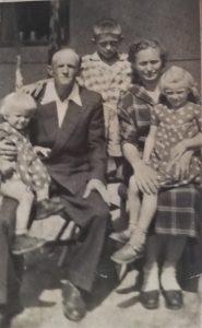 Wissinger family in Romania