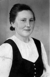 Young Hilda in Austria