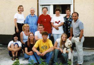 Reunion at Erna Wissinger home