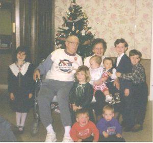 Family gathering in Colorado