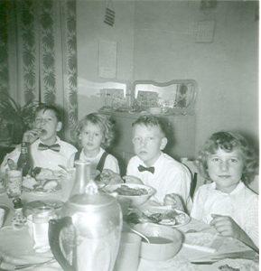 Ed, Gertie, Helmut, Irma Habermann