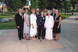 Habermann Family at Lois' wedding