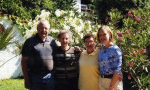 Helmut, Hilda, Sharon, Laura Habermann