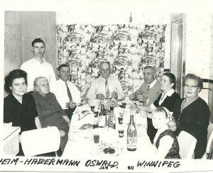 Celebrating in Winnipeg w. Heims