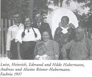 Family of Heinrich Habermann